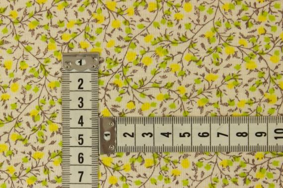 Трикотаж мелкие цветы 017