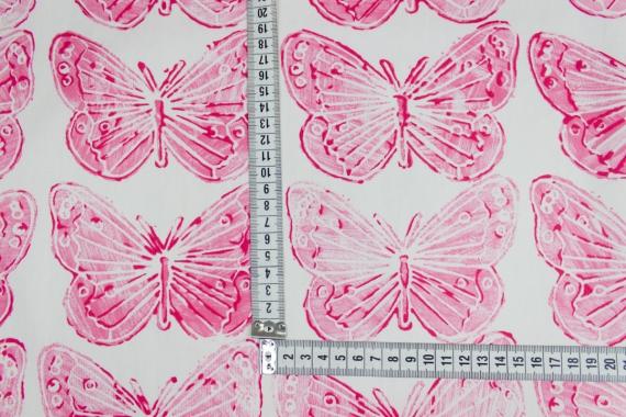 Хлопок с бабочками 11076