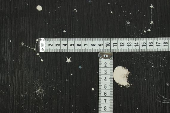 Шифон ночное небо 13533