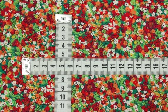 Хлопок класса люкс в мелкие цветы 13573