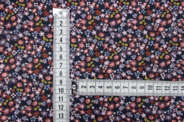 Хлопок в мелкие цветы 13531